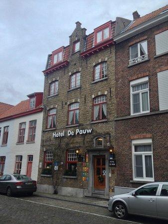 Hotel De Pauw: Facciata Hotel
