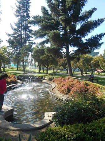 Parque El Ejido: fuente
