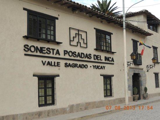 Sonesta Posadas del Inca Yucay : Frente