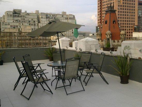 Massiosare El Hostal : На крыше