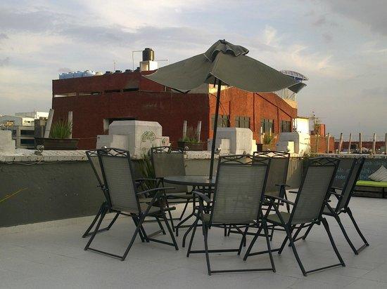 Massiosare El Hostal: на крыше