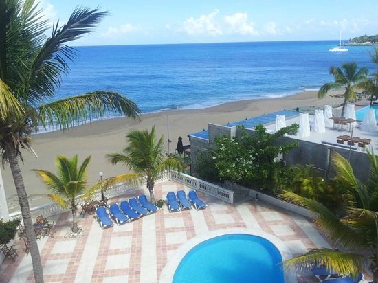 Sosua Paradise: View from our living room