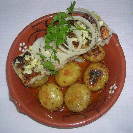 Restaurante Rio Mondego : ...bacalhau a lagareiro...