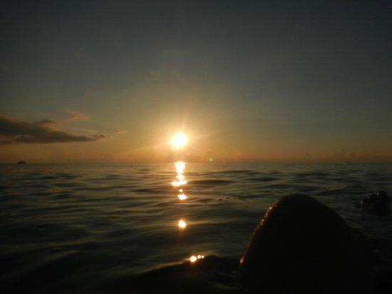 Casa Caribe: sunset