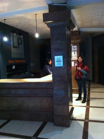 Hotel LP Columbus: Lobby