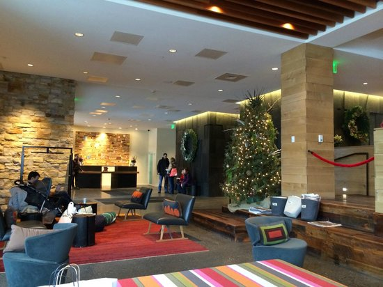 Hotel Vermont : Main check in lobby