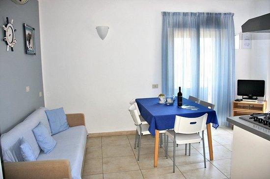 Residence Villa Livia: App. 3 Soggiorno Pranzo