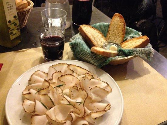 Osteria Baralla : A great Lardo!