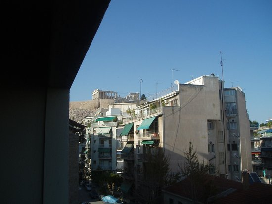 Divani Palace Acropolis : From our balcony