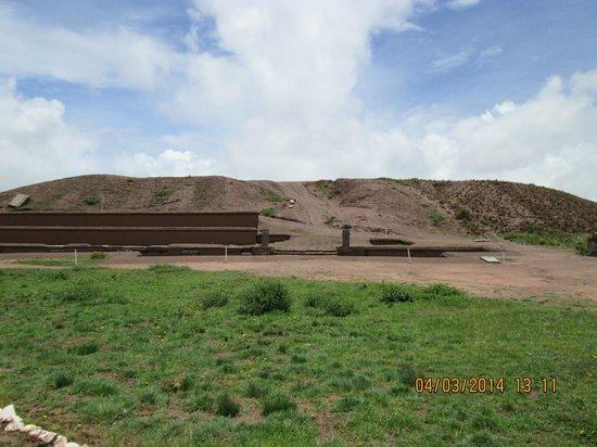 Tiahuanaco (Tiwanaku): una parte de la ciudad