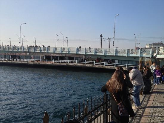 Galata Bridge : 09.01.2014