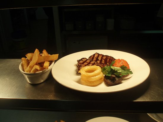 The Golden Cross: steak