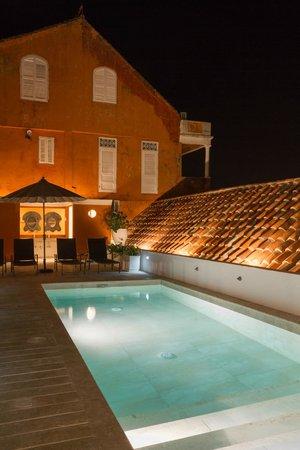 Hotel Boutique Casa del Coliseo: Terraza/Piscina
