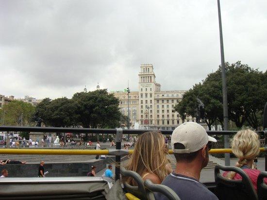 Olivia Plaza Hotel: Из туристического автобуса