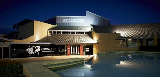 Hamilton, New Zealand: Waikato Museum - Te Whare Taonga o Waikato is open 7 days from 10am - 4.30pm