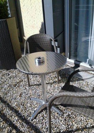 Hotel Westerkamp: Terasse