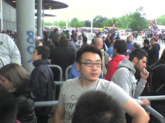 Stadio Giuseppe Meazza (San Siro) : fanas