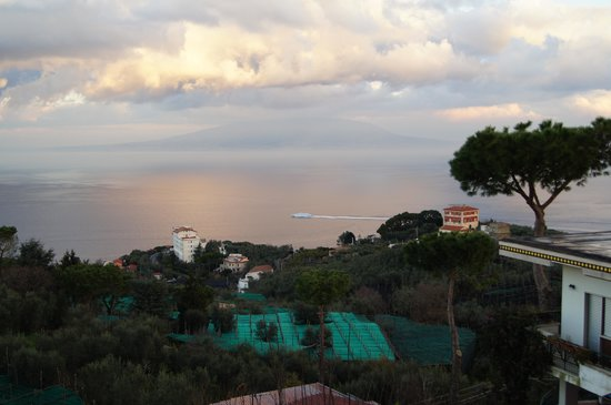 Il Nido Hotel Sorrento : Winter sunrise
