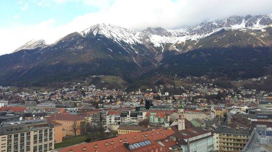 Hilton Innsbruck: Vista do 13º andar