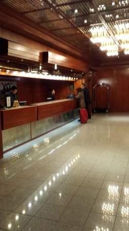 Hilton Innsbruck: Recepção