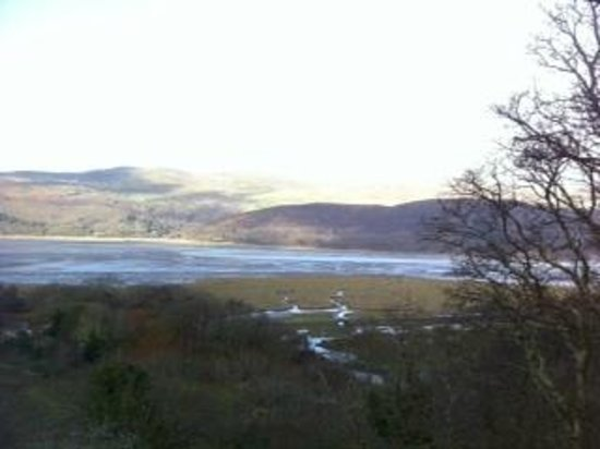 The Slate Shed B &B at Graig Wen: room with a view