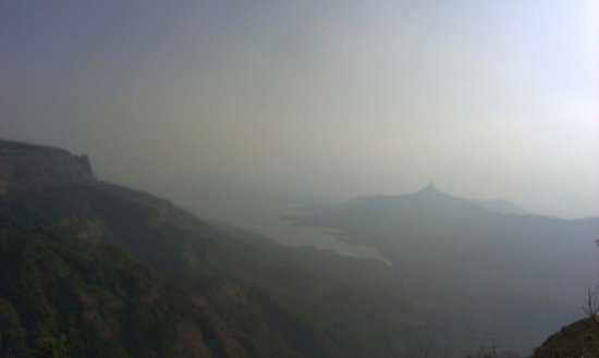 Awesome view from Louisa point. Must watch for all matheran visitors