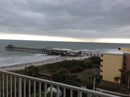Best Western Ocean Beach Hotel & Suites : View from balcony