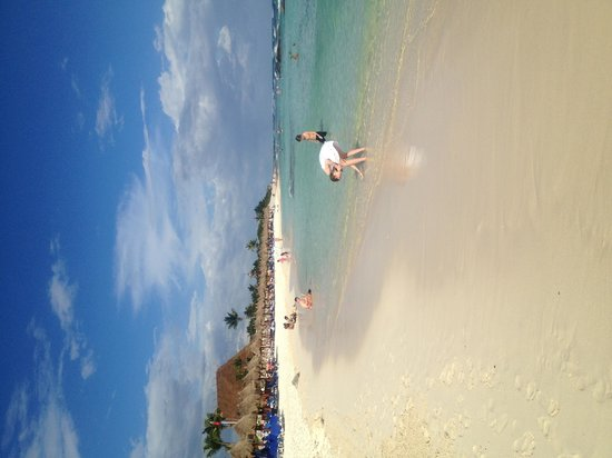 Grand Bahia Principe Tulum: Beautiful Beach