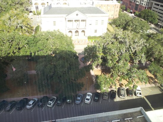 Doubletree Hotel Tallahassee : Park view from 13th Floor