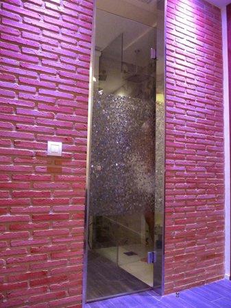 Hotel Boutique Gabbeach: Il bagno