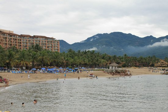 Villa del Palmar Beach Resort & Spa: View of beach