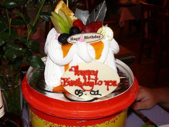 Strawberry Restaurant: Тортик