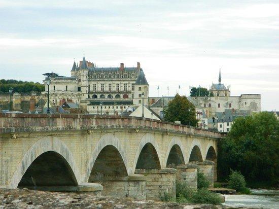 La Loire : Château Royal d'Àmboise and General Leclerc Bridge