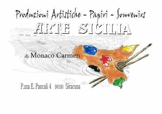 Arte Sicilia di Monaco Carmen