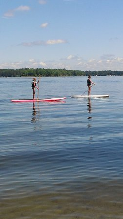 Bay View Lodge : Paddle Boarding