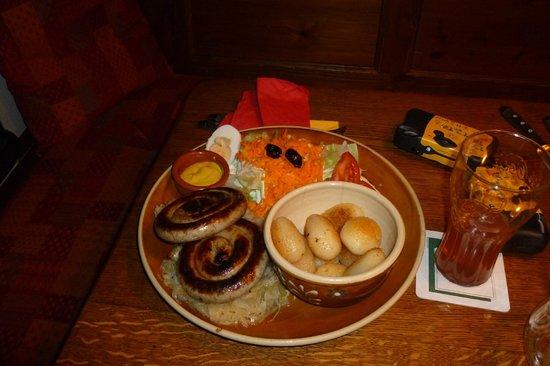 Zum Spreisel: Bratwurst