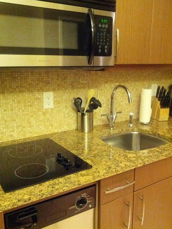 The Parkside Hotel & Spa : Little kitchenette