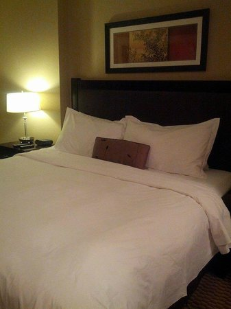 The Parkside Hotel & Spa : The king sized bed