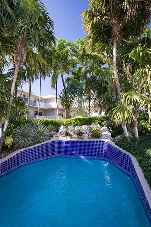 Casa Caribe: Pool on the beautiful grounds