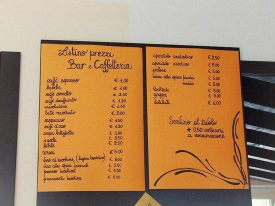 Villaggio Lugana Marina: Бар и кафетерий