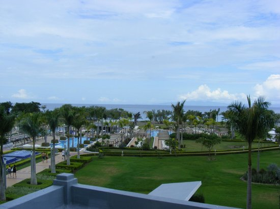 Hotel Riu Palace Costa Rica : View from Hotel Lobby