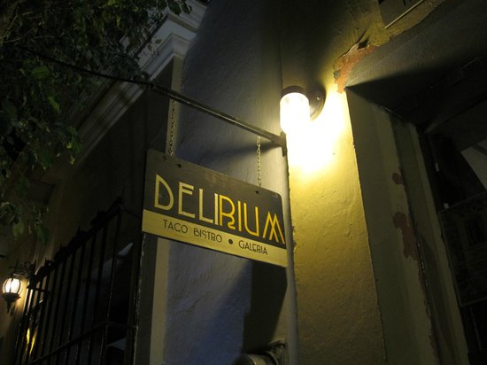 Delirium Taco Bistro Galeria: ¡Bienvenidos!