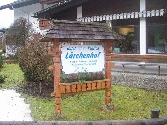Alpenhotel Lärchenhof: Blick von außen 2