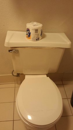 La Quinta Inn Del Rio: Room 150 - The whole toilet seat MOVED it was ALMOST comical but I'm done at this point.