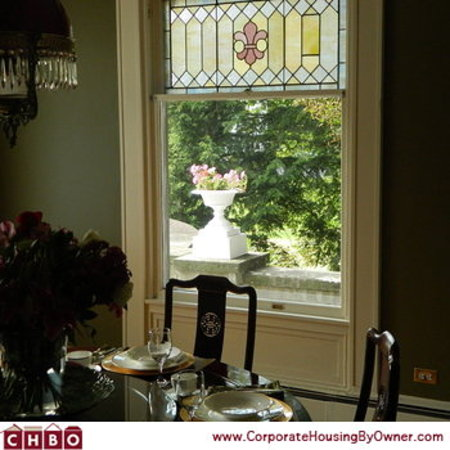 The Colonial B&B At Stamford: Dinning area