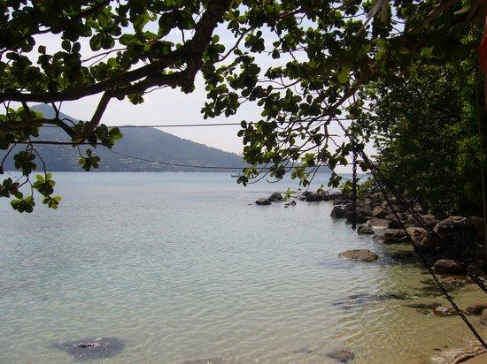 Swissotel Resort Phuket Kamala Beach : Utsikt från Skylas beach house