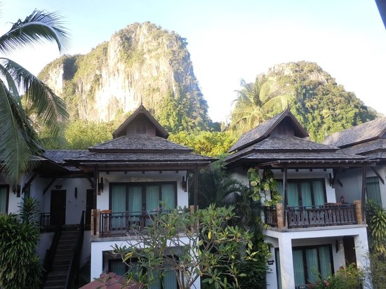 Railay Village Resort: View from balcony