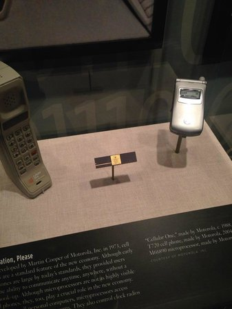Chicago History Museum : Apparently flip phones are now museum pieces :)