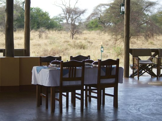 Kirurumu Tarangire Lodge : Dinner Area