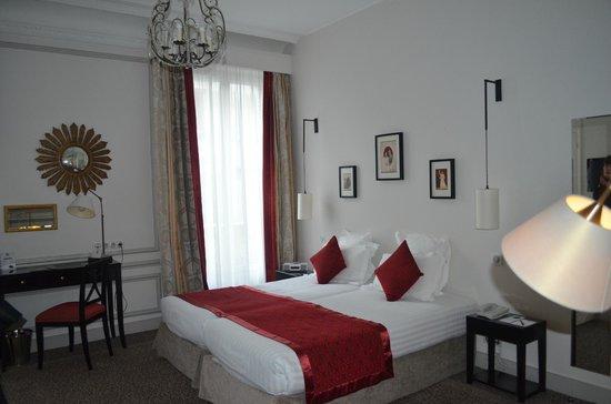 Hôtel Bradford Elysées - Astotel : la chambre